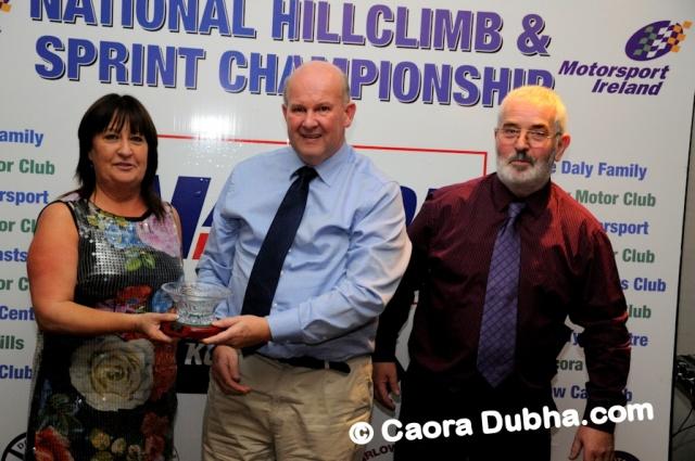 Receiving Colin Bradley award