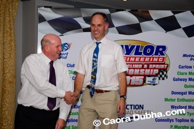 Championship awards night with John Whitley